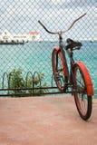 Ποδήλατο παραλιών Cozumel Στοκ Εικόνες