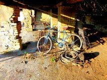 ποδήλατο παλαιό Στοκ εικόνες με δικαίωμα ελεύθερης χρήσης