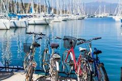 Ποδήλατο στην ακτή Στοκ Εικόνα