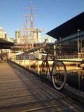 ποδήλατο στη Μελβούρνη Στοκ Εικόνες