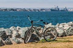 Ποδήλατο στο νότο πάρκων Embarcadero στο Σαν Ντιέγκο στοκ εικόνα