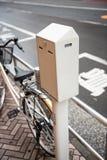 Ποδήλατο στο χώρο στάθμευσης Στοκ Εικόνες