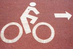Ποδήλατο συμβόλων Στοκ φωτογραφίες με δικαίωμα ελεύθερης χρήσης