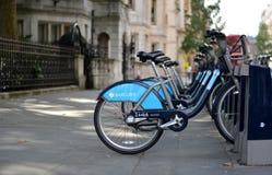Ποδήλατο της Barclays Στοκ φωτογραφίες με δικαίωμα ελεύθερης χρήσης