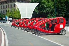 ποδήλατο τρίτροχο Στοκ Εικόνα