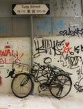 Ποδήλατο Χονγκ Κονγκ Στοκ Εικόνα