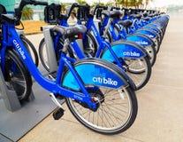 Ποδήλατο Citi - πόλη της Νέας Υόρκης Στοκ Φωτογραφία