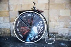 Ποδήλατο Farthing πενών Στοκ Εικόνες