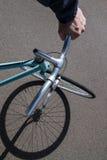 Ποδήλατο Fixi το καλοκαίρι Στοκ Εικόνες