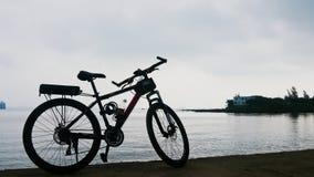 Ποδήλατο guangdong παραλιών Στοκ Εικόνες