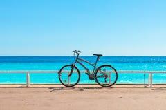 Ποδήλατο Promenade des Anglais Στοκ εικόνα με δικαίωμα ελεύθερης χρήσης