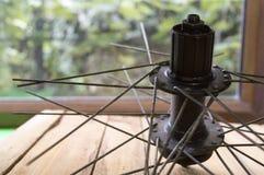 Ποδήλατο spokes για τη ρόδα Στοκ φωτογραφία με δικαίωμα ελεύθερης χρήσης