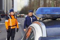 Πολίτης που περπατά στις Βρυξέλλες την Κυριακή 11 Ιανουαρίου 2015 Στοκ Εικόνα