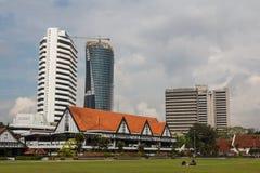 Πολίτης που στηρίζεται στην πλατεία Merdeka στοκ φωτογραφία με δικαίωμα ελεύθερης χρήσης