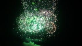 Πολλαπλάσια έκρηξη πυροτεχνημάτων διανυσματική απεικόνιση