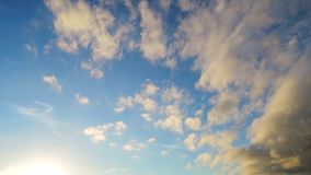 Πολλαπλάσια σύννεφα Timelapse ύψους απόθεμα βίντεο