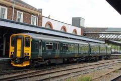 Πολλαπλών ενοτήτων Hill θάμνων του Worcester τραίνων diesel στοκ εικόνες με δικαίωμα ελεύθερης χρήσης