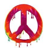 Πολεμική έννοια ειρήνης Στοκ Εικόνες