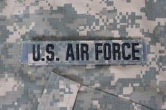 Πολεμική Αεροπορία των Η.Π.Α. ομοιόμορφη στοκ εικόνες με δικαίωμα ελεύθερης χρήσης