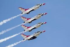 Πολεμική Αεροπορία των Η.Π.Α. Thunderbirds Στοκ Εικόνες
