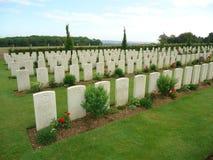 Πολεμικοί τάφοι Κοινοπολιτείας Στοκ Φωτογραφία