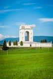 Πολεμικός κόσμος ένα μνημείο σε ASIAGO, Ιταλία Στοκ Εικόνες
