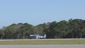 Πολεμικό αεροσκάφος Δεύτερου Παγκόσμιου Πολέμου απόθεμα βίντεο