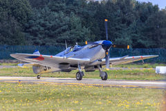 Πολεμικό αεροσκάφος Spitfire Στοκ εικόνα με δικαίωμα ελεύθερης χρήσης