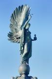 Πολεμικό αναμνηστικό άγαλμα με τα φτερά Στοκ εικόνα με δικαίωμα ελεύθερης χρήσης
