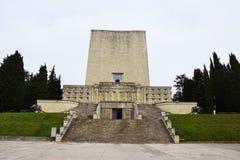 Πολεμικό αναμνηστικό μνημείο ένα Montello, Ιταλία Στοκ φωτογραφίες με δικαίωμα ελεύθερης χρήσης