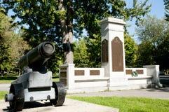 Πολεμικό αναμνηστικό μνημείο - Κίνγκστον - Καναδάς Στοκ Εικόνες