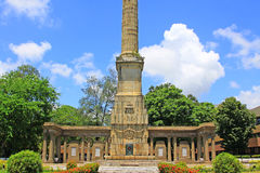 Πολεμικό μνημείο κενοταφίων, Colombo, Σρι Λάνκα στοκ φωτογραφία με δικαίωμα ελεύθερης χρήσης