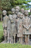 Πολεμικό μνημείο σε Lidice Στοκ Εικόνα