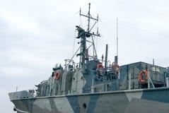 Πολεμικό πλοίο στοκ φωτογραφία με δικαίωμα ελεύθερης χρήσης
