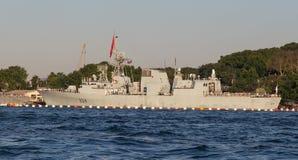 Πολεμικό σκάφος Στοκ φωτογραφίες με δικαίωμα ελεύθερης χρήσης