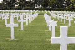 Πολεμικό στρατιωτικό νεκροταφείο με το εβραϊκό αστέρι Στοκ Εικόνα