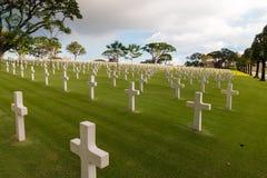 Πολεμικό στρατιωτικό νεκροταφείο Στοκ Εικόνες