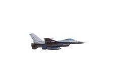 Πολεμικό τζετ γερακιών F-16 Στοκ φωτογραφίες με δικαίωμα ελεύθερης χρήσης