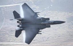 Πολεμικό τζετ Πολεμικής Αεροπορίας των Η.Π.Α. F15 Στοκ Εικόνες