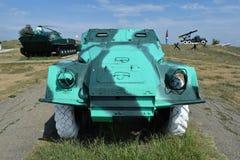 Πολεμικό όχημα πεζικού Στρατιωτικό όχημα για τους στρατιώτες στο πεδίο μάχη Στοκ εικόνες με δικαίωμα ελεύθερης χρήσης