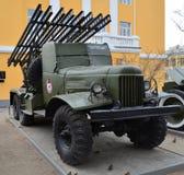 Πολεμικό όχημα Katyusha Στοκ Εικόνες