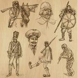 Πολεμιστές no.3 Στοκ Εικόνα