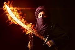Πολεμιστής γυναικών Στοκ Φωτογραφίες