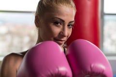Πολεμιστής γυναικών Στοκ φωτογραφία με δικαίωμα ελεύθερης χρήσης