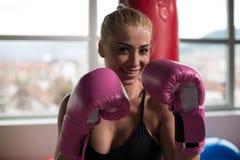 Πολεμιστής γυναικών Στοκ Εικόνες