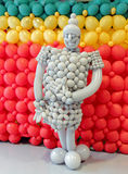 Πολεμιστής μπαλονιών διασκέδασης Στοκ Εικόνες