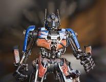 Πολεμιστής ρομπότ μετάλλων Στοκ Εικόνα