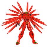 Πολεμιστής ρομπότ Anime διανυσματική απεικόνιση