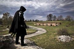 Πολεμιστής στην ξεχασμένη θέση Στοκ Φωτογραφίες