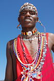 Πολεμιστής του Ναϊρόμπι, Κένυα Maasai Στοκ Φωτογραφίες